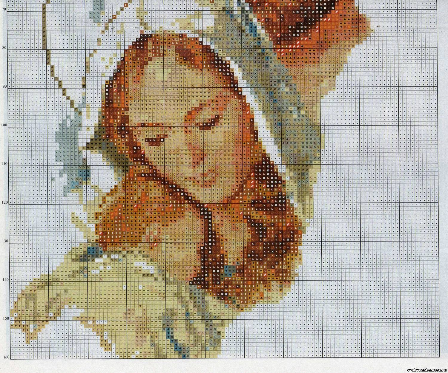 Схемы cross stitch иконы