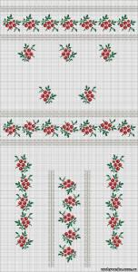 Жіноча сорочка. Схеми вишивки - Сторінка 5 - СПІЛКУВАННЯ ЗА ВИШИВАНКОЮ 36363e4b7d1f5