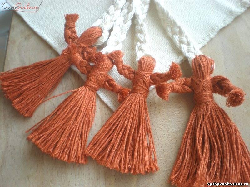 Как сделать куклу мотанку из ниток своими