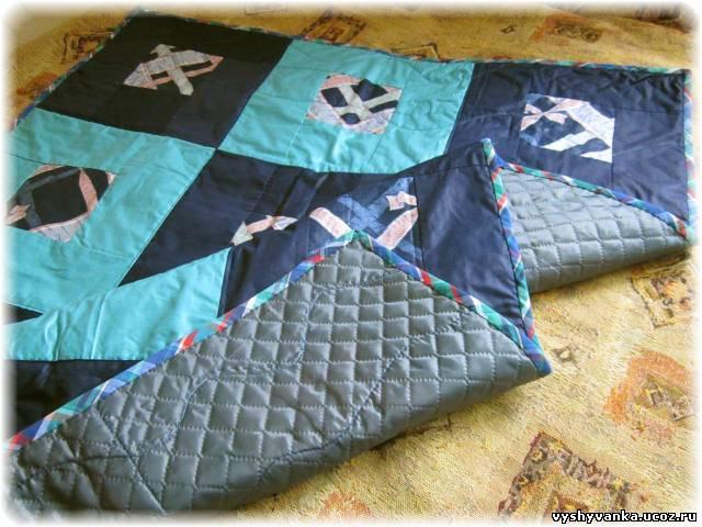 Как сшить одеяло на синтепоне своими руками 15