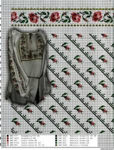 Жіноча сорочка. Схеми вишивки - Сторінка 5 - СПІЛКУВАННЯ ЗА ВИШИВАНКОЮ 3d191b1094239