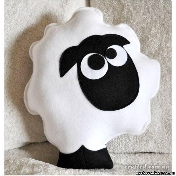 Мягкая игрушка овцы своими руками фото