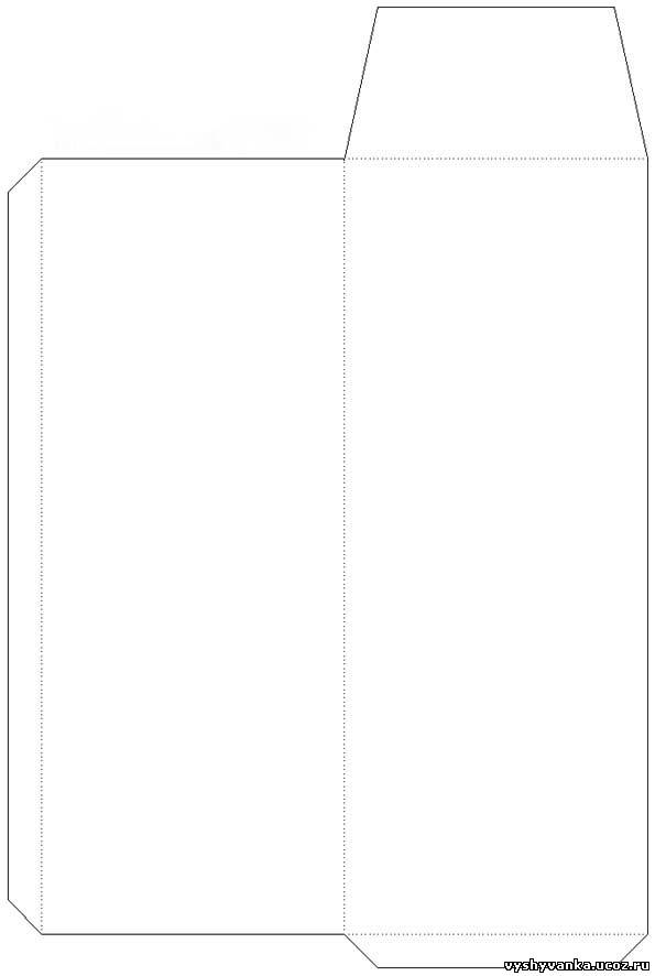 Конверт своими руками для денег шаблон конверта 894