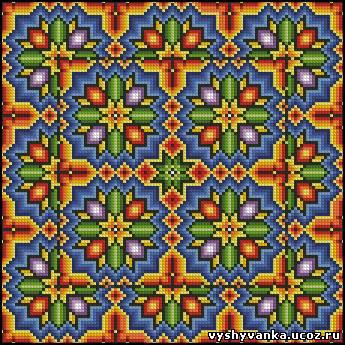 Подушки - Схеми хрестиком - Галерея схем - Спілкування за вишивкою aaf71f2f7674d