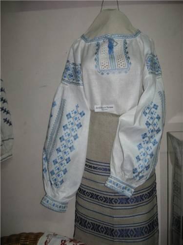 Схеми вишивок хрестиком сорочки