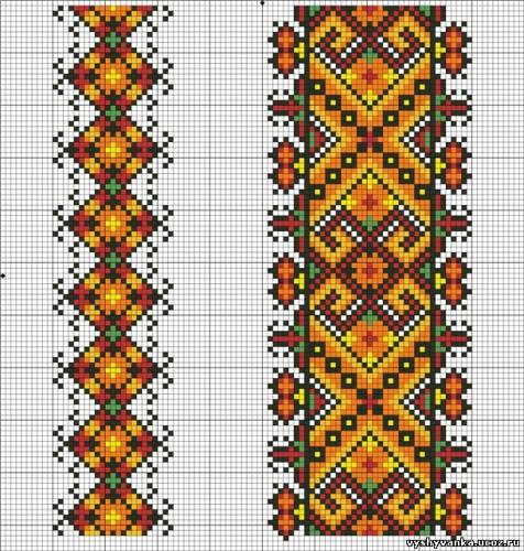 Перенабір схеми для вишивки рушника від Nito4ka - Схеми - Рушники - Галерея  схем - Спілкування за вишивкою 457b5cb33947c
