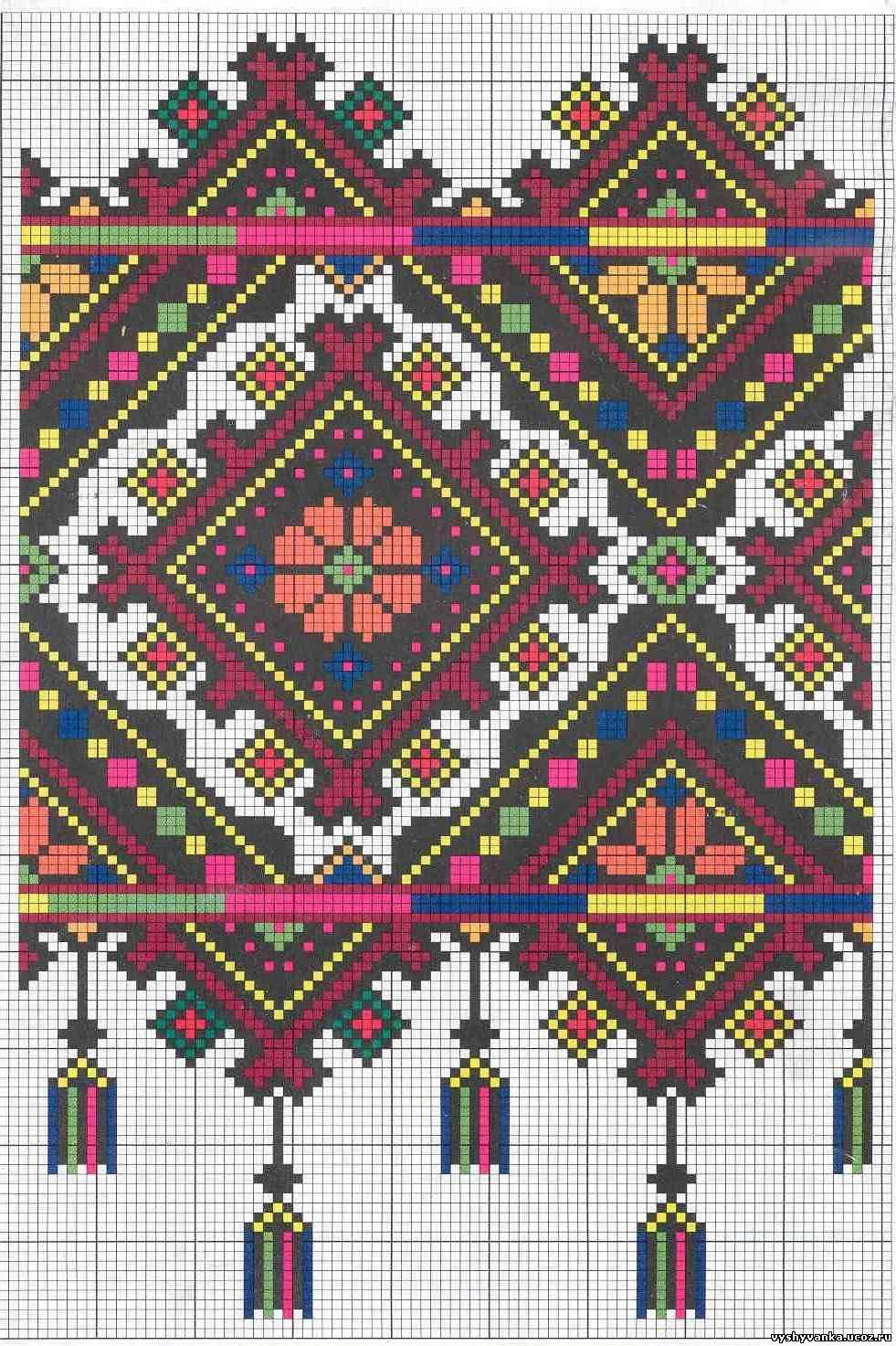 Рушники - Галерея схем - Спілкування за вишивкою d8365e4d48b42